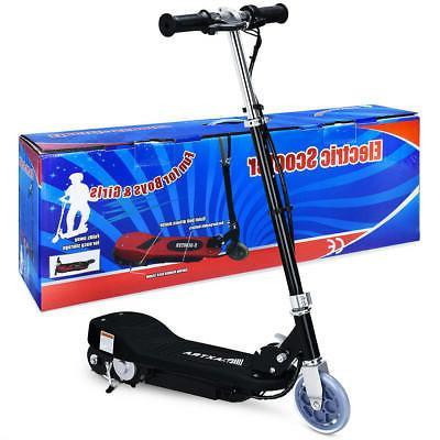 folding kids electric scooter motorized bike 24v