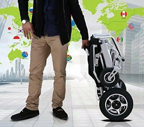 Folding Lightweight Wheelchair Mobility Motorized