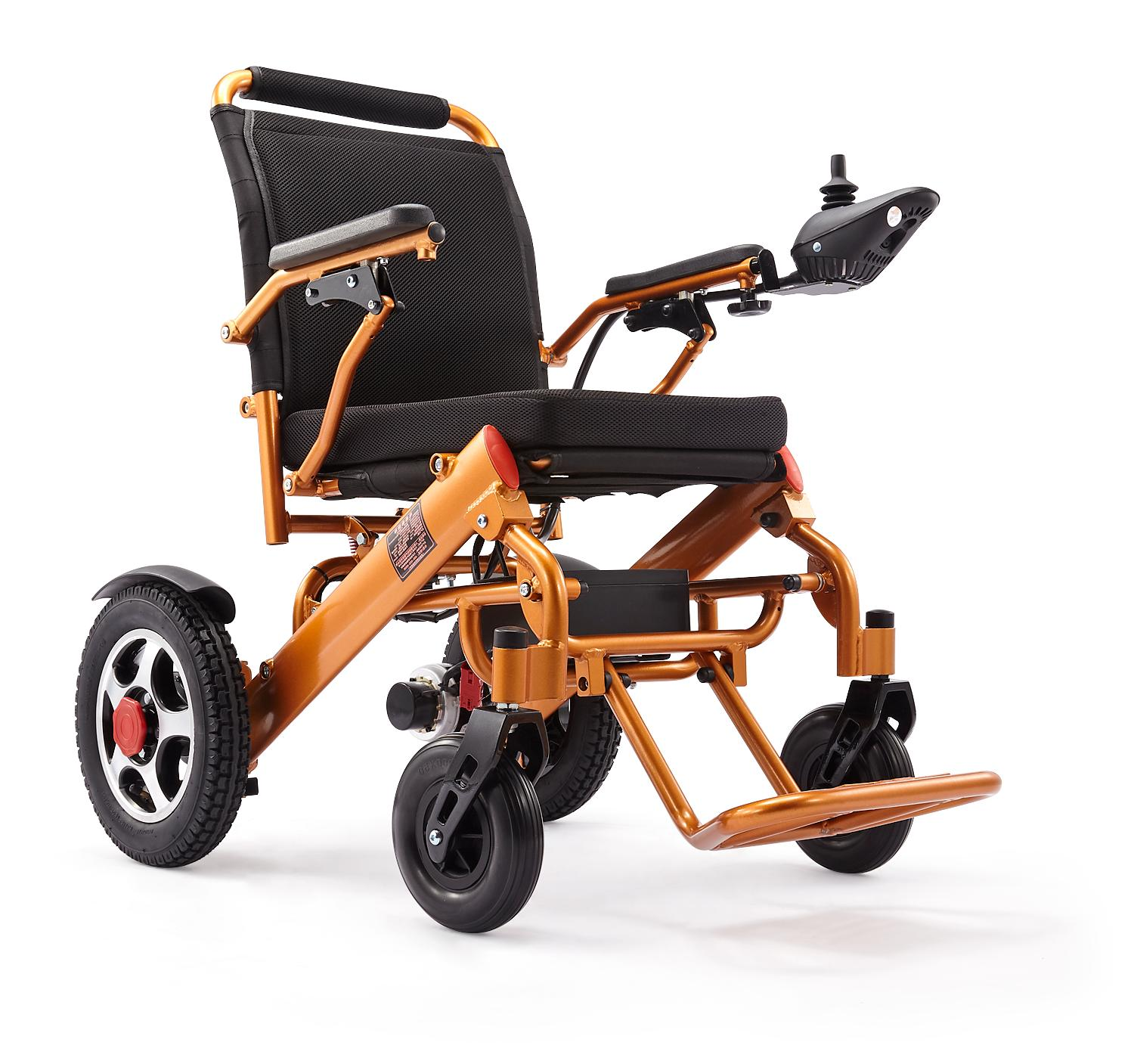 Folding Electric Power Wheelchair Medical Mobility Motorized