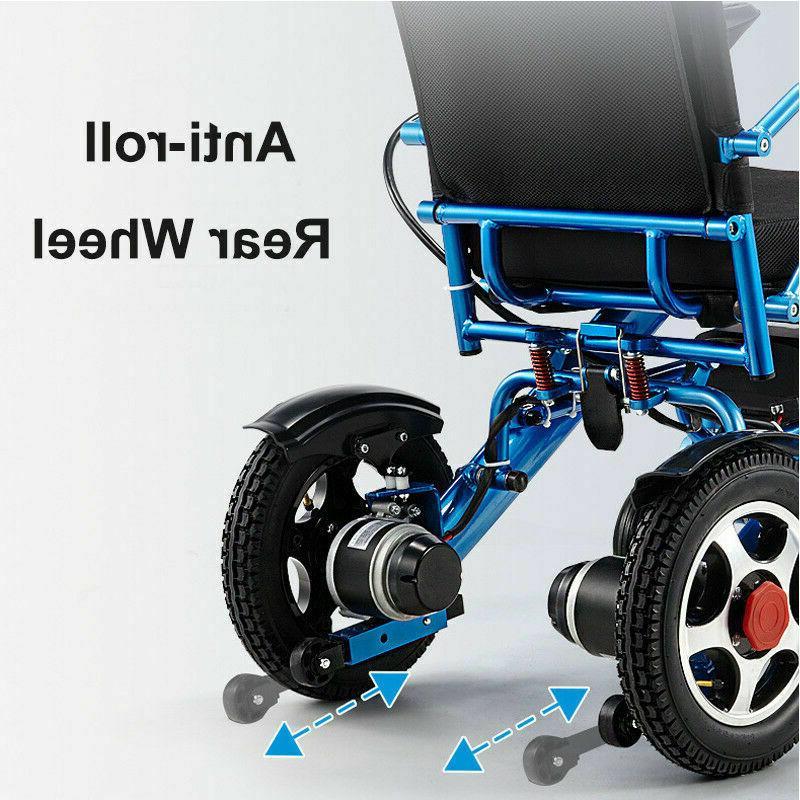 Folding Lightweight Electric Wheelchair
