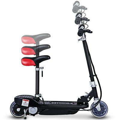 Folding Rechargeable Seated Scooter Outdoor For Teens