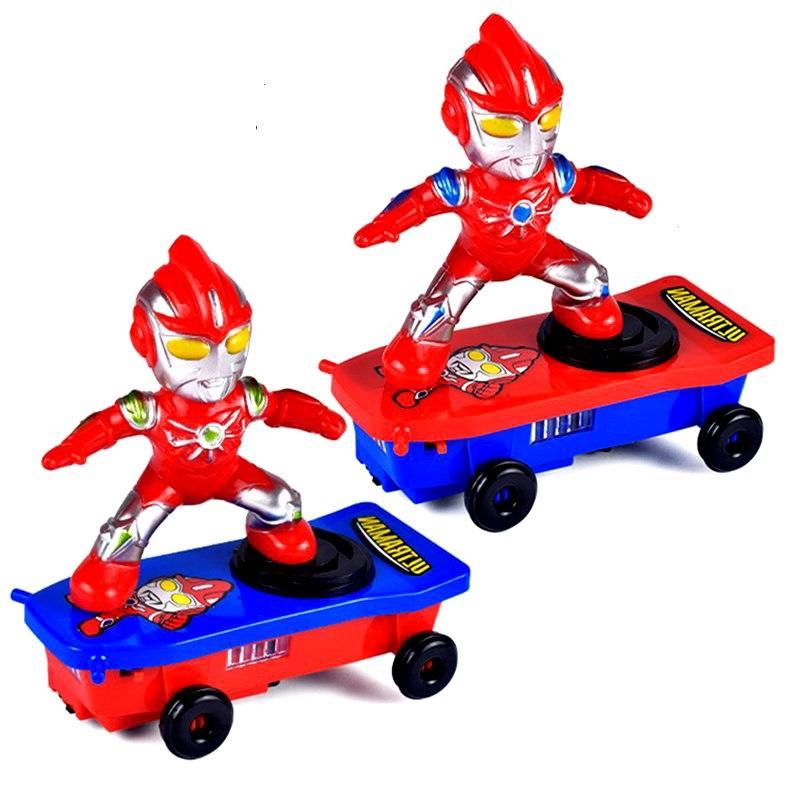 <font><b>Electric</b></font> Spider Universal Rotating Light Walk Fall Down Children Toys.