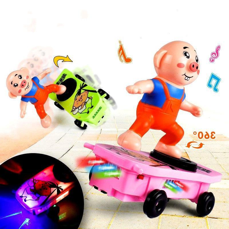 <font><b>Electric</b></font> Spider <font><b>Stunt</b></font> Universal Light Automatic Walk Fall Down Children Cartoon Toys.