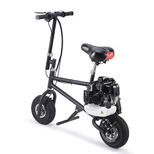 SAY Bike 49cc 2-Stroke Mini Adult Folding Bicycle, Gas Kids Dirt Motocross