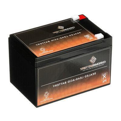 Chrome Battery General Purpose Battery - 12000 mAh - Lead Ac