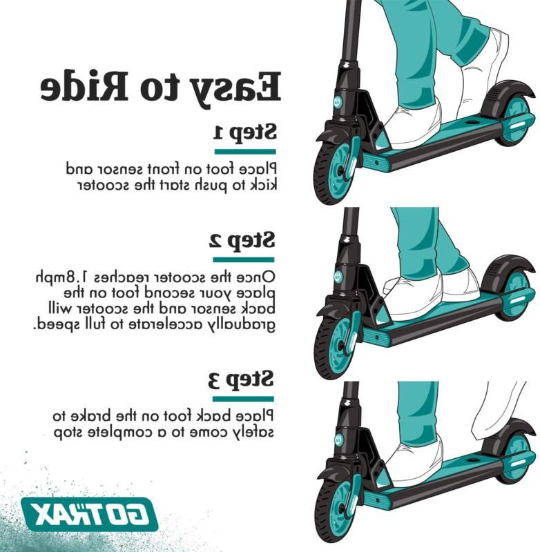 Gotrax for Kids Age of 6-12, Boost and Gravity