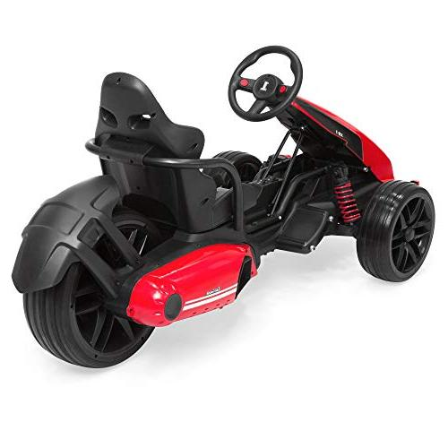 Best Choice Kids Go-Kart Ride-On Car w/ Push-to-Start Foot Spring -