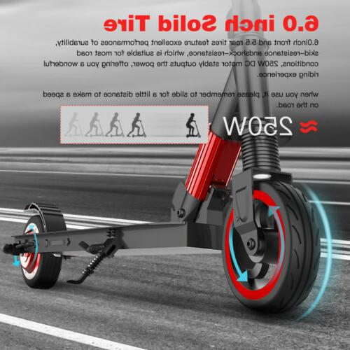 Megawheels 250W Folding Electric Scooter Kick E-scooter Ultr