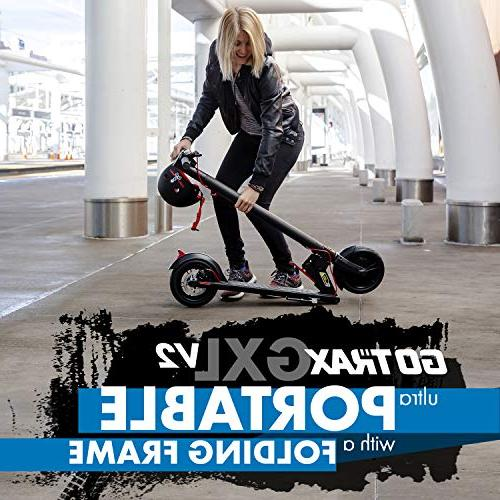 """GOTRAX GXL Commuting Electric Scooter - 8.5"""" Filled Tires & to 12mile Range"""