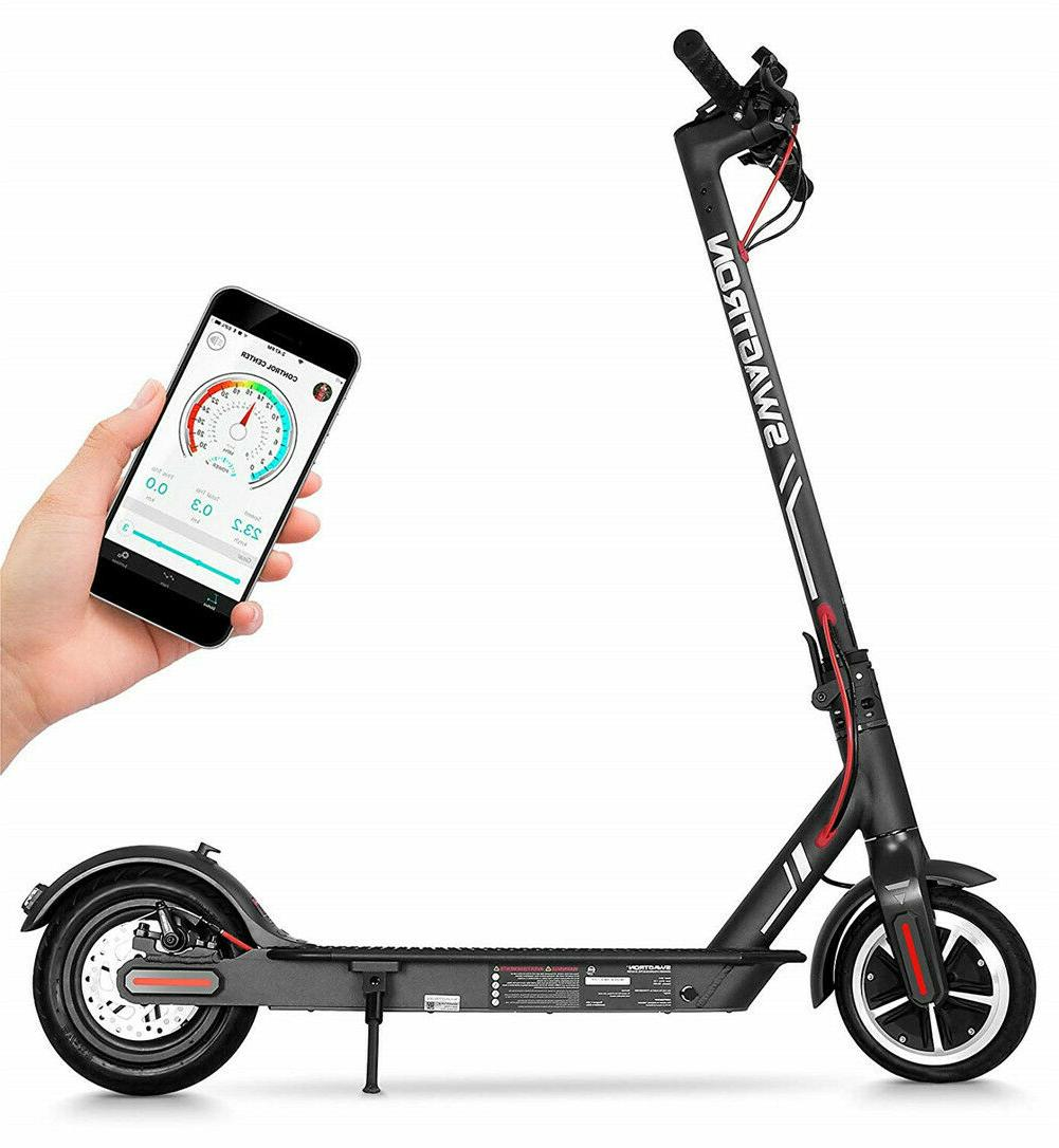 Swagtron High Scooter 1-Step Portable Folding Swg5