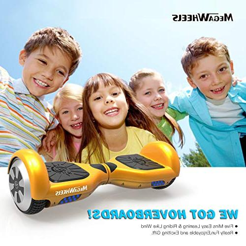MEGAWHEELS Hoverboard - UL Certified Board Bluetooth &