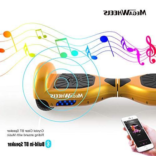 MEGAWHEELS Hoverboard Certified Board Speaker &