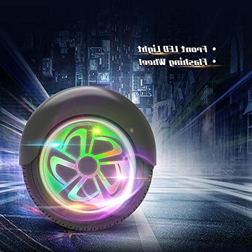 "Hoverboard Flash Wheel Two-Wheel Self Balancing 6.5"""