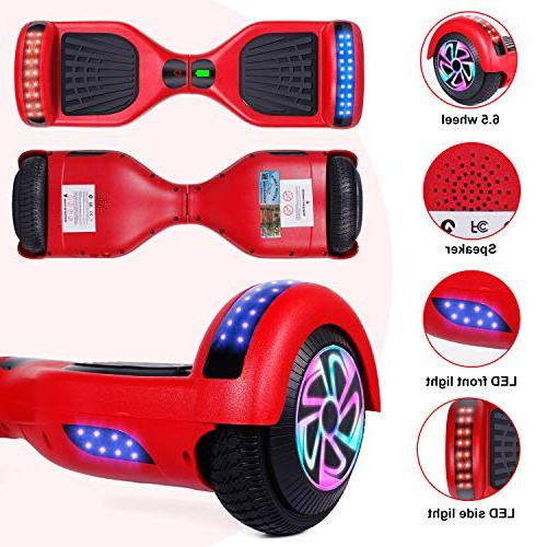 "EPCTEK Balancing Electric UL Certified,6.5"" Wheel for Kids Adults,with and Free Carry"