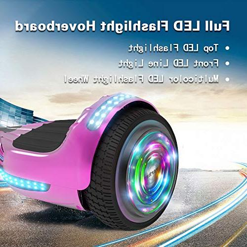 Hoverboard UL Flash Wheel Speaker with Self Wheel Electric Scooter
