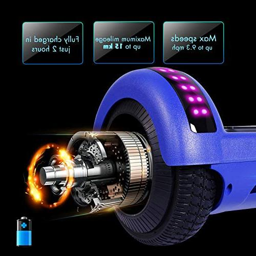 YHR Hoverboard UL Certified Wheel Scooter Light Scooter