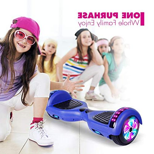 YHR Hoverboard Certified Two Wheel Light Smart Scooter