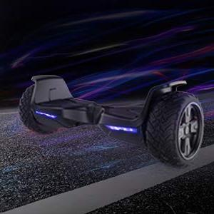 """TOMOLOO 8.5"""" All Terrain Wheels Off-Road Kids and Adults Bluetooth Speaker and Light"""