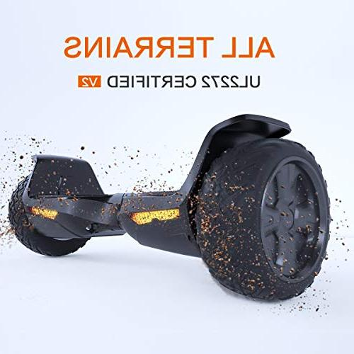 hoverboard ul2272 certified terrain wheels