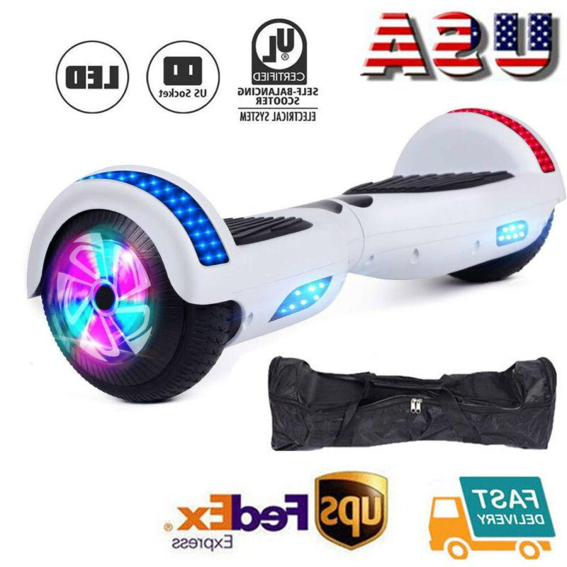 hoverheart ul2272 6 5 chrome hoverboard electric