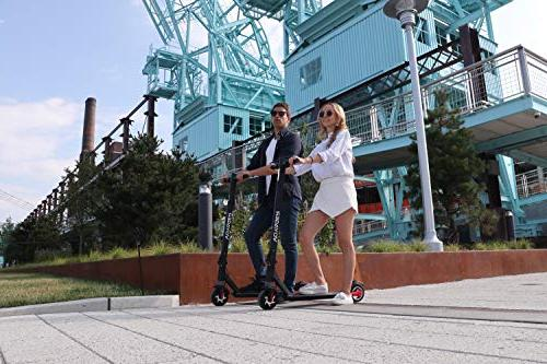 Voyager Foldable Scooter with LCD LED 12.5 Max Speed, Long Battery 7 Miles