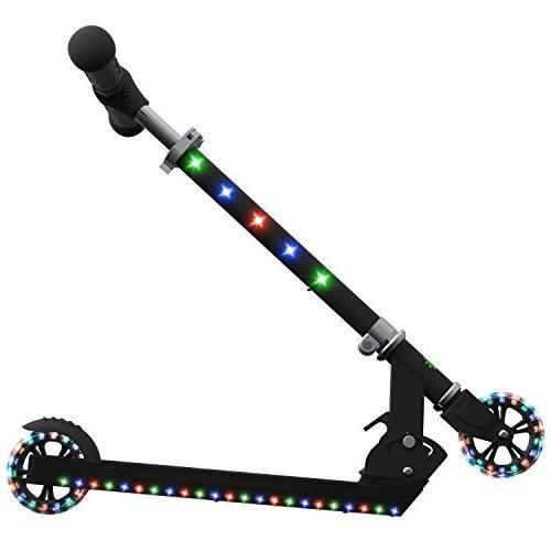Jetson Jupiter Scooter with LED Deck, Stem, and Wheels, Kids 5