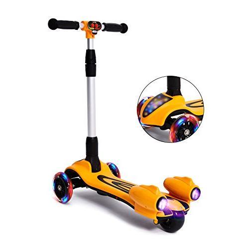 MammyGol Kick Kids,Adjustable Handle Folding Spray Wheeled, Age