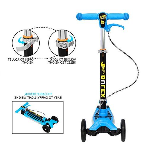 Kick Scooters Kids, OUTAD 3 Kids Scooter Adjustable T-Bar, New Designs