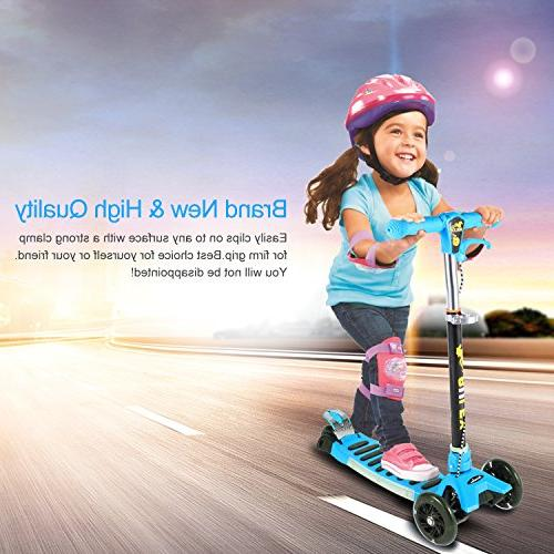 Kick Scooters OUTAD Kids Scooter with Adjustable T-Bar, New