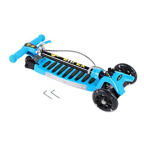 Kick OUTAD 3 Kids Stunt Scooter with Adjustable Aluminum Alloy T-Bar, New 2017