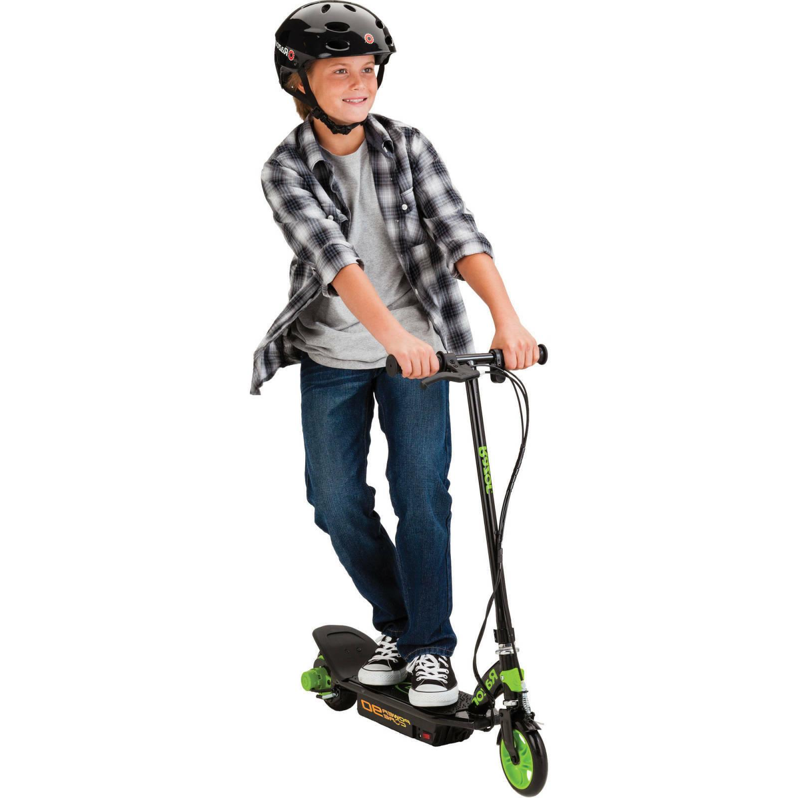 Kids Electric Battery Children Hand Front Brake Scooters