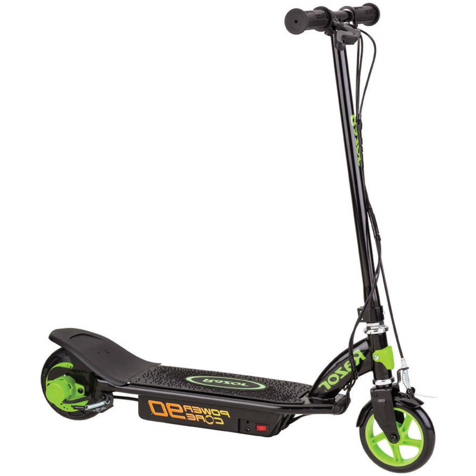 kids electric scooter rechargeable battery children hand