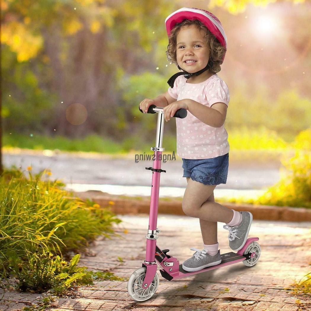 Kids Scooter Age Adjustable Kick Scooters Girls