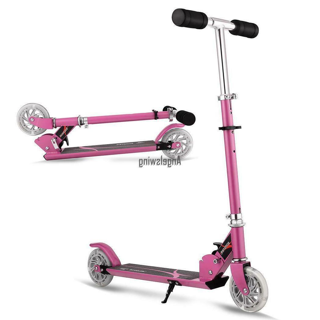 Age 3-16 Kick Scooters LED_Wheels