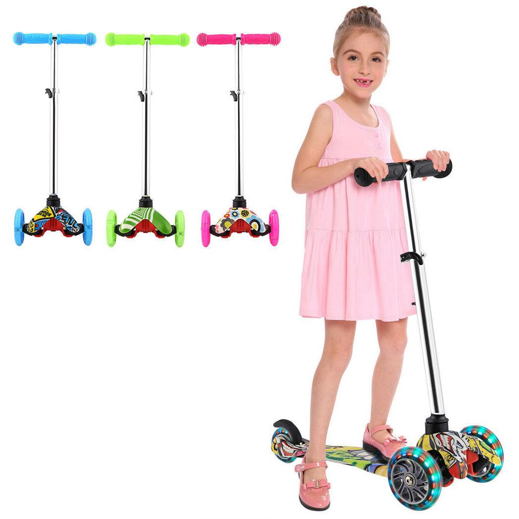 age 3 12 kid scooter deluxe adjustable