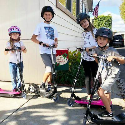 Maxtra Kids Electric Scooter Teens Rechargeable Adjustable Commuter US