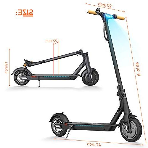 TOMOLOO L1 Kick Scooter for Electric Scooter Foldable