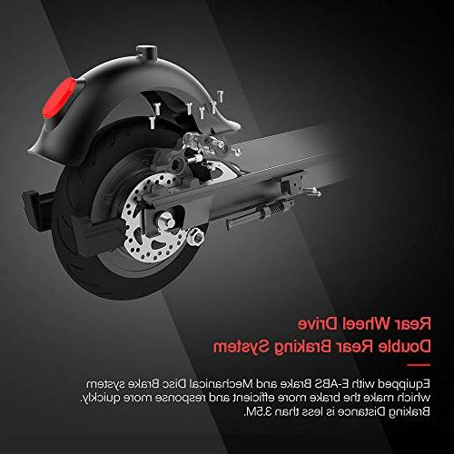 RND Scooter Control Accelerator, Vacuum Tire, Dual Brake, Detachable 18.64MPH, Weight