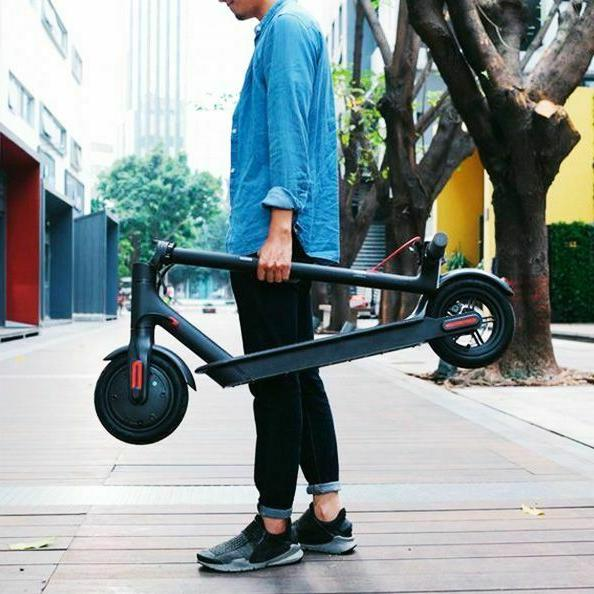 Xiaomi Scooter improved brakes, battery W