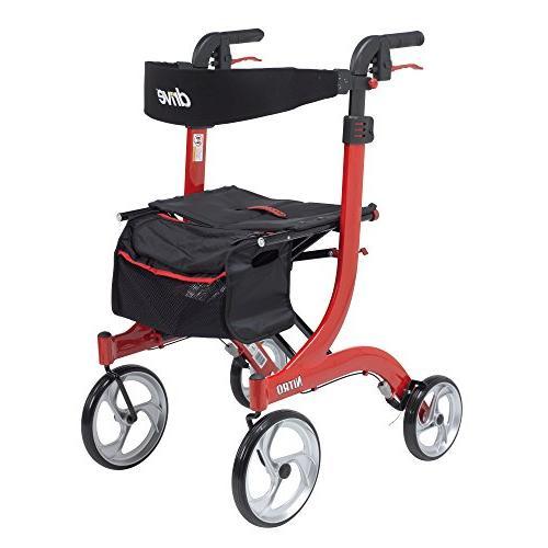medical nitro euro rollator walker