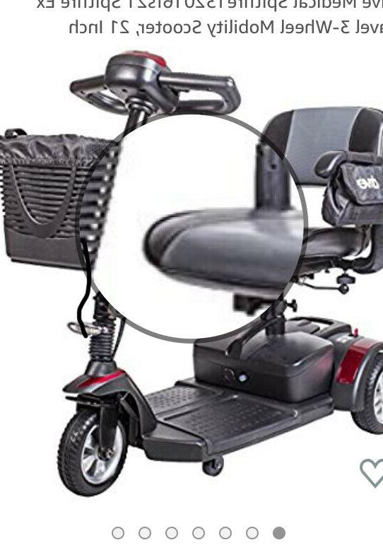 Drive medical scooter ex compact electric wheelchair