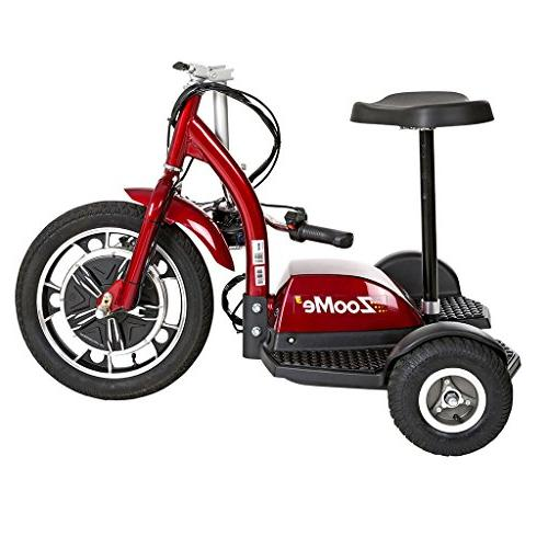 Drive Medical 3-Wheel Recreational Scooter Including 3 Year Ext. Warranty
