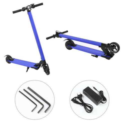 250W 23Km/H Electric Foldable Scooter Skateboard Digital Dis