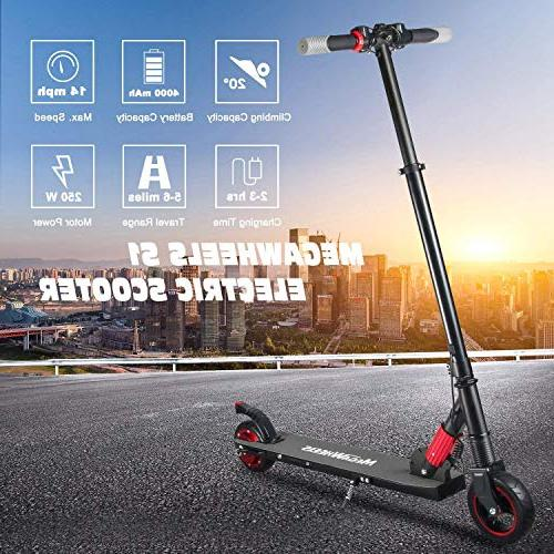 MegaWheels Lightweight & Up to Miles for Kids and Adults,Electric