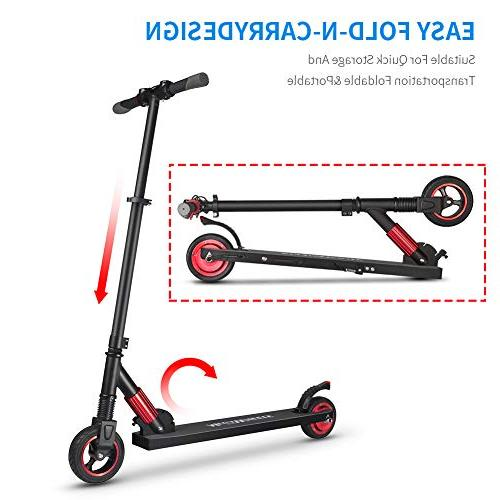 Missbee MegaWheels Lightweight Folding Scooter to 23MPH, up 12