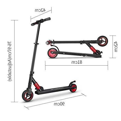 Missbee Electric Scooter Lightweight Adults Kids, Speed to 12 Mile
