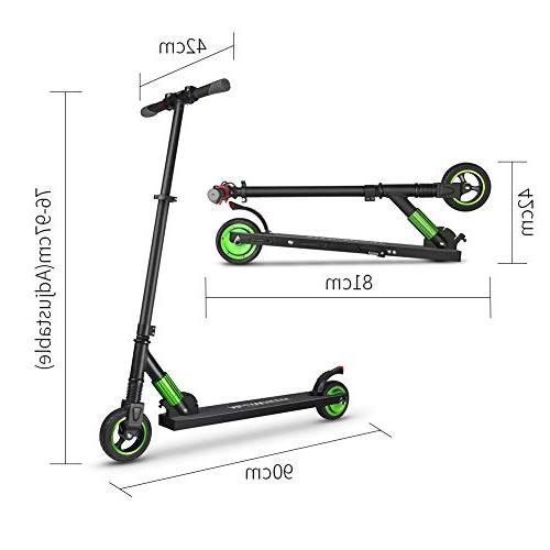 iBaste for Kids and Ultra-Lightweight Foldable Carry Scooter