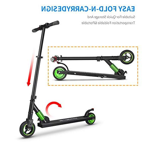 iBaste Electric for Kids Ultra-Lightweight & Scooter