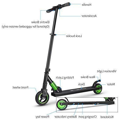 iBaste for Kids Ultra-Lightweight Scooter