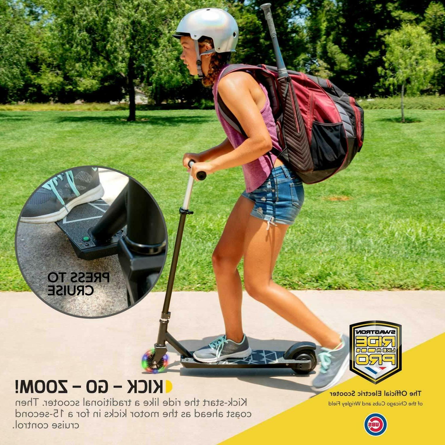Swagtron Metro SK3 Electric Scooter Wheels & Kick-Start Boost